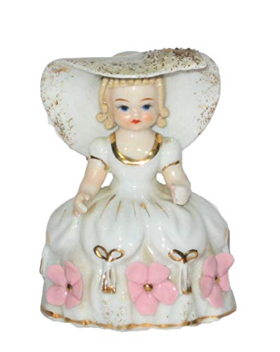Lefton Vintage Mary Mary Quite Contrary 3 1/2 Inch Porcelain Figurine