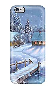 Fashion NrSJrqf4595PSVvt Case Cover For Iphone 6 Plus(winter Dreamland)(3D PC Soft Case)