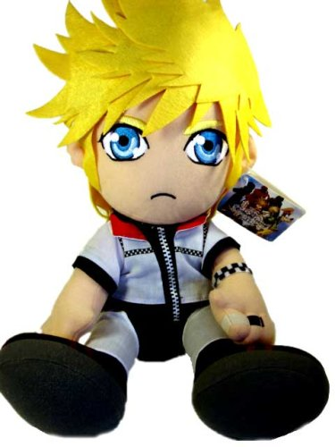 amazon com kingdom hearts 2 roxas 12 inch plush toys games
