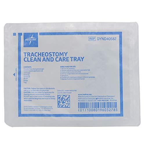 Tracheostomy Clean and Care Tray Kit Quantity: Case of -
