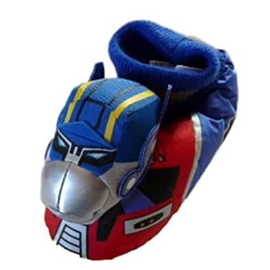 Amazon.com | Toddler Boys Transformers Slippers Sock Top ...