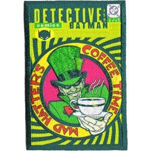 DC Comics Iron on Patch - Detective Comic Batman No. 759 Cover Mad Hatter Design Applique
