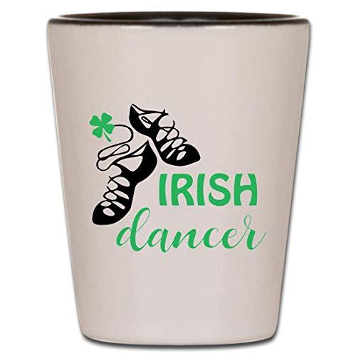 Irish Cheers Slainte Shot Glass - Irish Gifts Shot Glasses Saying