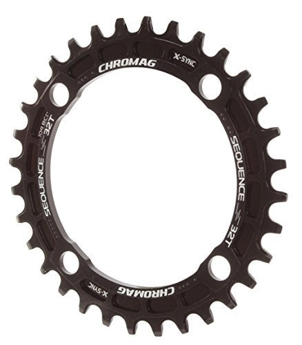 Chromag Sequence chainring, 104BCD 32T - schwarz by Chromag