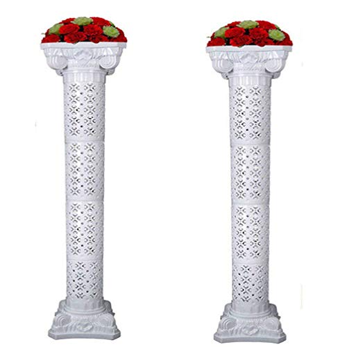Amon Tech 2PCS Wedding Roman Column Set Elegant Wedding Event Decorative Columns 66