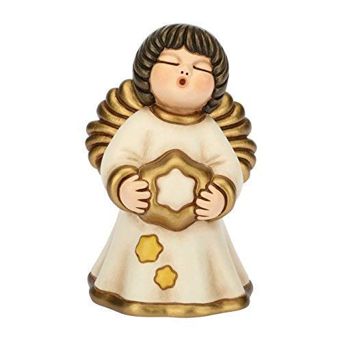 Thun Angelo della Felicità, in Ceramica, h 14,8 cm
