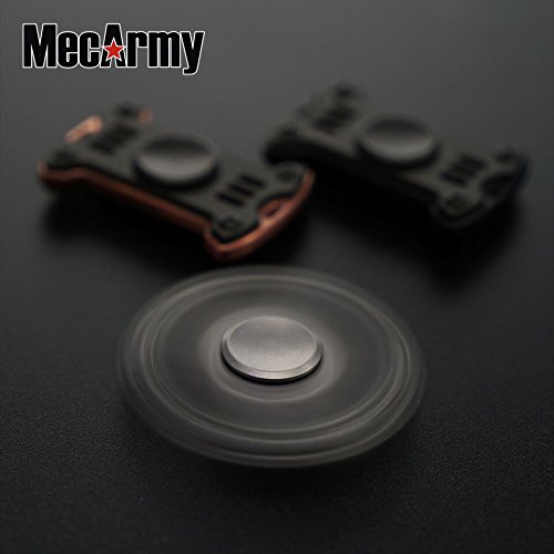 GP1 Titanium Fidget Spinner, Hand Excise, Relieves Stress and Anxiety, MecArmy (sand blasted) by MeCarmy (Image #7)