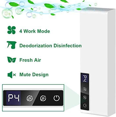 3T6B Desodorizador, Mini Purificador de Aire, Desodorizador de Ozono, Generador de Aniones Desodorante para Automóviles, Hogar, Oficina, Automóvil, Coche: Amazon.es: Hogar
