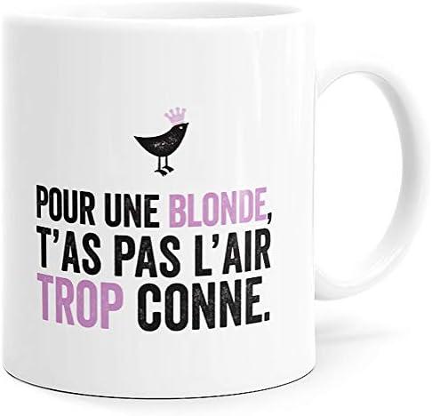 Mug Humour Blonde Tasse Messag…
