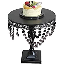 Cupcake Stand, BotituBlack Dessert Stand with Premium Crystal Decoration Cupcake Display, Perfect for Birthday, Baby Shower, Thanksgiving, Christmas, Graduation and Wedding Cake Stand(big size)