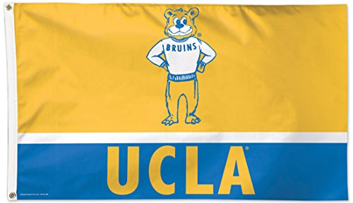 WinCraft UCLA Bruins Deluxe Flag, Vintage Retro Edition, 3x5