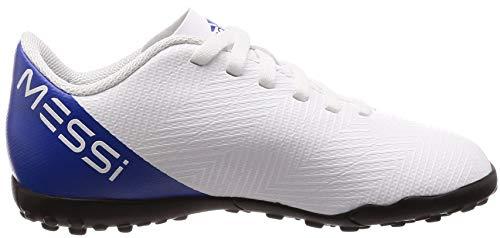 Fooblu Adulto 18 Botas Adidas 3 de Unisex fútbol J 4 Negbás 2 Nemeziz 38 Ftwbla 001 Messi EU TF Tango Blanco wwCPZtq