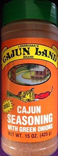 Cajun Land Creole Cajun Seasoning with Green Onions 15 Oz ()