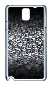 Water Bubbles Custom Samsung Galaxy Note 3/ Note III / N9000 - Polycarbonate - White