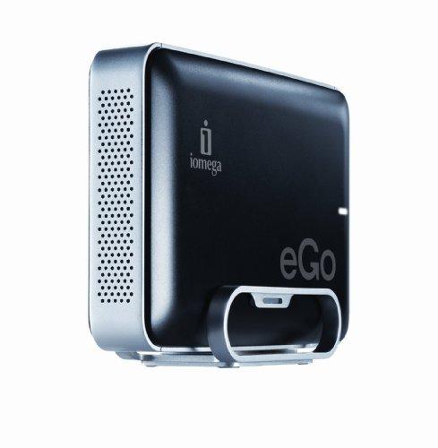 (Iomega eGo 1 TB USB 2.0 Desktop External Hard Drive 34836 (Jet Black))