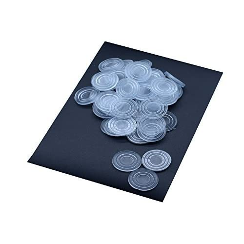 Rubber Clear Glass Table Top Bumpers Large Size Glass Table Top