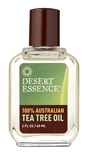 Desert Essence Tea Tree Oil 100% Pure, 2-Ounce
