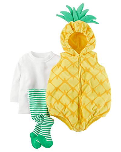 Carter's Baby Girls' 3-Pc. Little Pineapple Costume 18 -