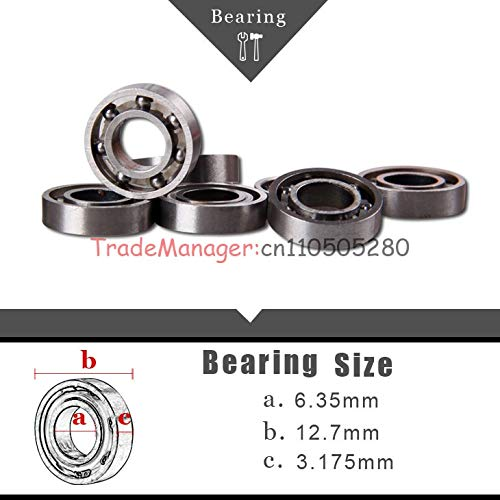 - Part & Accessories Brand new imported bearings 6.3512.73.175 10pcs/lot Linear Ball Bushing RC helicopter spare parts Accessories