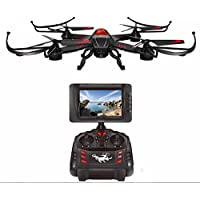 BDKJ A12 FPV RC Drone Kit 2.4G 4CH 6 Axis 5.8G Real time transmission monitor RC UFO Quadcopter with 720P HD Camera
