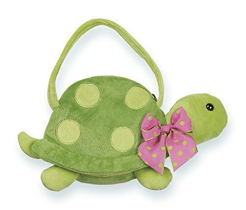 - Bearington Pokey Carrysome, Girls Plush Turtle Stuffed Animal Purse, Handbag 7 inches