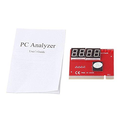 (VT BigHome Computer PCI POST Card Motherboard LED 4-Digit Diagnostic Test PC Analyzer)