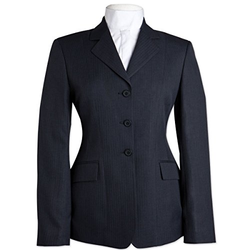 R.J. Classics Childs Hampton Show Coat 12R Navy Childrens Polyester Show Coat
