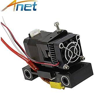 Cabezal de impresora 3D extrusora A6 A8 MK8 cabezal en J único ...