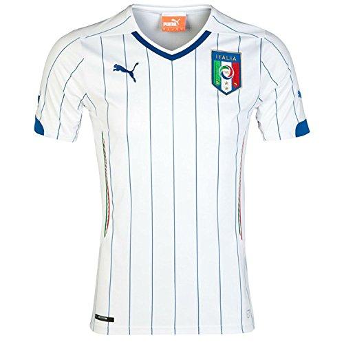 Puma Youth Drycell Italia Replica Away Jersey (Puma V-neck Jersey)