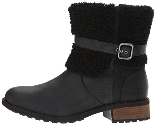 Womens Boots Leather Ugg Noir Ii Blayre Australia 5CqCwf1