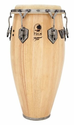 Toca 3912-1/2T Traditional Series Tumba - Natural Wood Finish