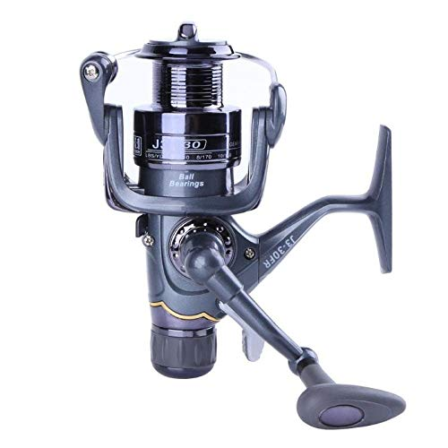Car accessories - 20RF 30RF 40RF Fishing Reel Carp Spinning Reel Carbon Front and Rear Drags 3BB Bearings Metal Fishing Reels Tools Accessories