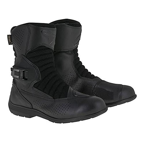 Alpinestars Multiair XCR Gore-Tex Men's Street Motorcycle Boots (Black, EU Size 45)