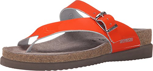 - Mephisto Women's Helen, Orange Patent, 11 M US