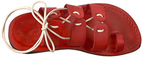 Sandalo Gerusalemme Sandalo Da Donna Deborah Rosso
