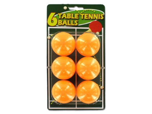 Set of six table tennis balls - Pack of 72 by bulk buys