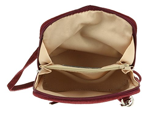 Girly Handbags - Bolso bandolera Mujer granate