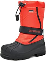 Dream Pairs Boys & Girls Toddler/Little Kid/Big Kid Kamick Mid Calf Waterproof Winter Snow Boots