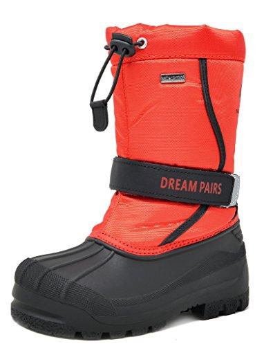 Dream Pairs Boys & Girls Toddler/Little Kid/Big Kid Kamick Mid Calf Waterproof Winter Snow Boots
