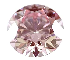 3.00 carat Fancy Intense Pink Natural Diamond VS1 Round Brilliant GIA Certified Rare color HPHT