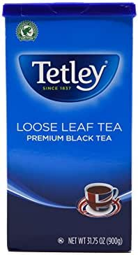 Tea Bags: Tetley Loose Leaf Tea