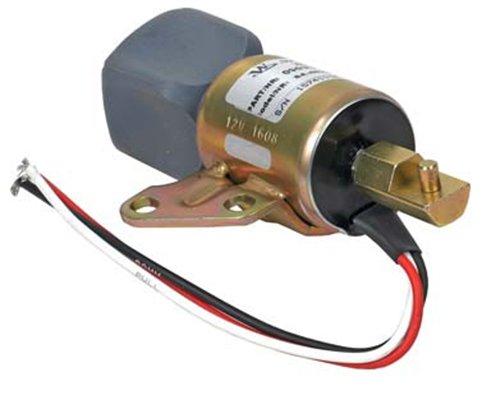 NEW FUEL SHUT-OFF SOLENOID FITS KUBOTA D722 ENGINES SA4899-12 SA-4899-12 1756ES24SUL5B1S5 16851-57723 1685157723 1756ES-24SUL5B1S5 -  RAREELECTRICAL, 240-22023*1