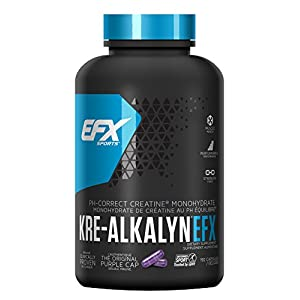All American EFX Kre Alkalyn Creatine for Muscle Growth Performance 20 More Free, 192 Total
