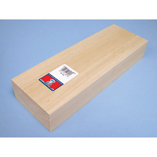 Balsa Block 2 x 4 x 12 Midwest Products Co. 7020