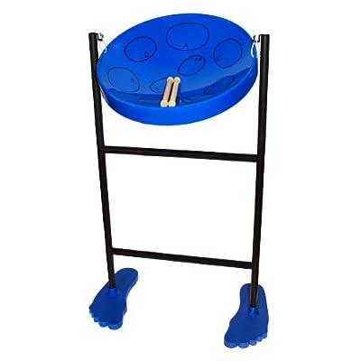 Panyard Steel Drum, Blue (W1058): Musical Instruments