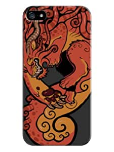 Beautyfayes Dinosaur Hard Back Shell Case / Cover for Iphone 5 and 5s-Davy Gray