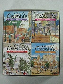 (A Cup of Colorado Tea Collection (4 flavors, 10 tea bags per)