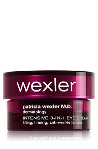 Patricia Wexler M.D. Dermatology Intensive 3-in-1 Eye Cream. Lifting, Firming, Anti-Wrinkle Formula, 0.5 Ounce - Intensive Anti Wrinkle Eye