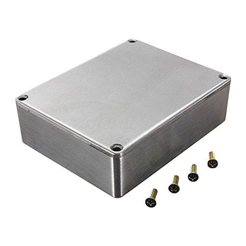 TOOGOO(R) Diecast Aluminium Electronics Project Box Case Enclosure Instrument Waterproof, Standard 1590B 112X60x31mm