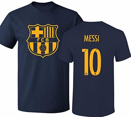 004ad14b63c Barcelona Soccer Shirt Lionel Messi  10 Futbol Jersey Youth T-shirt